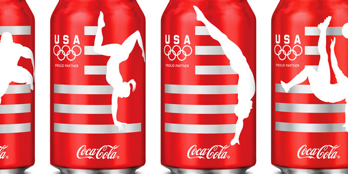 Coca-Cola packaging for The Olympic Games