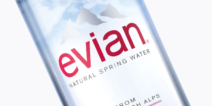 Evian Debuts New Bottle