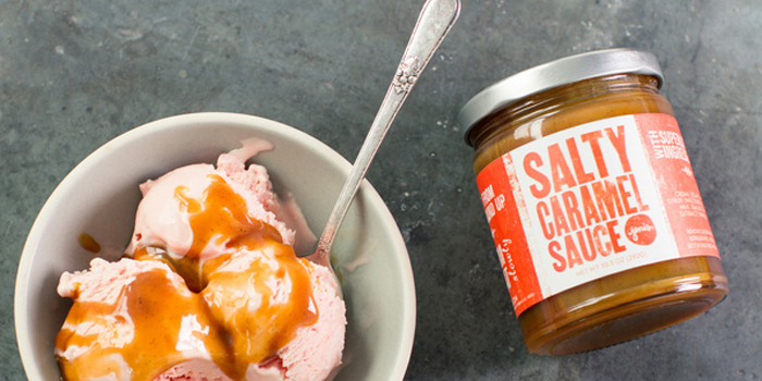 Jeni's Salty Caramel & Honey Butterscotch Sauce