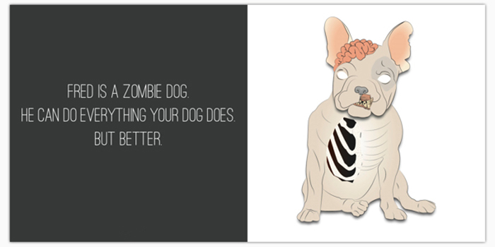 Fred the Zombie Dog