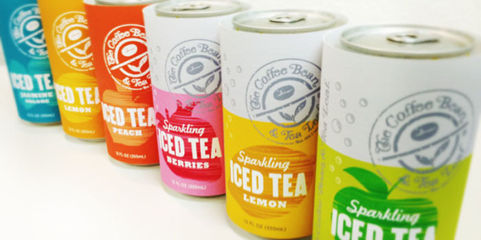 iced tea packaging for the coffee bean 2013 daily package design
