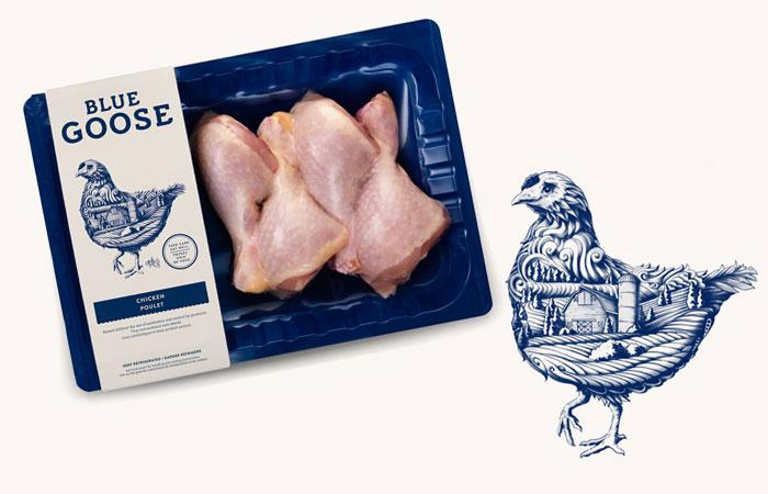 Blue Goose Pure Food 10