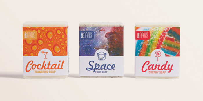 Soap bars for Food bar packaging