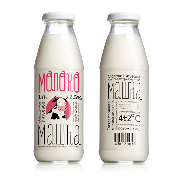 Молоко milk packaging daily package design inspirationdaily