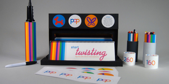 POP Balloon Twisting Kit