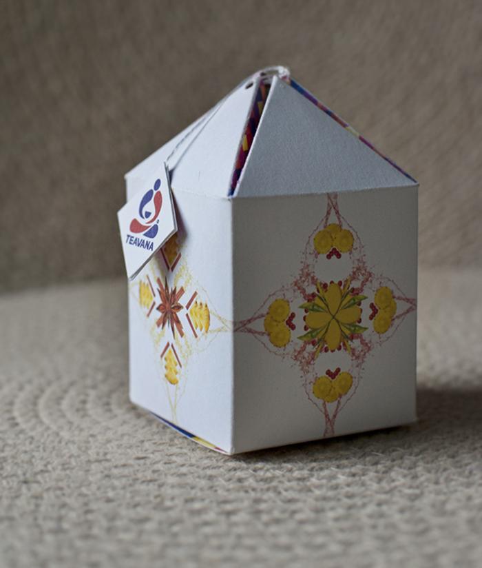 Teavana Sampler Packaging Design