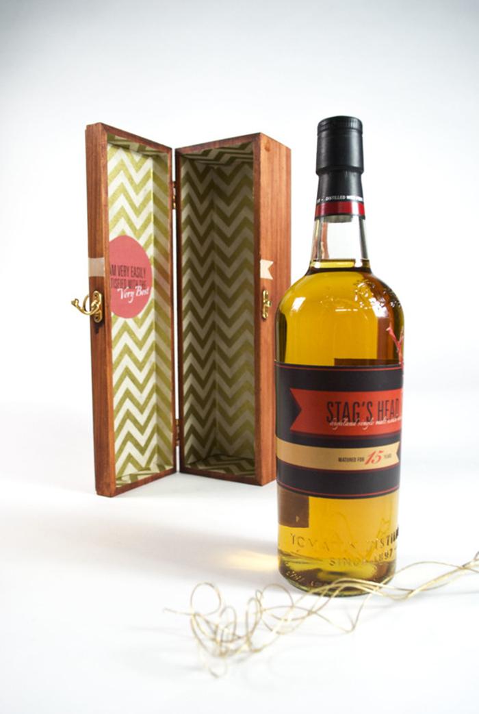 Stag's Head Scotch Label3