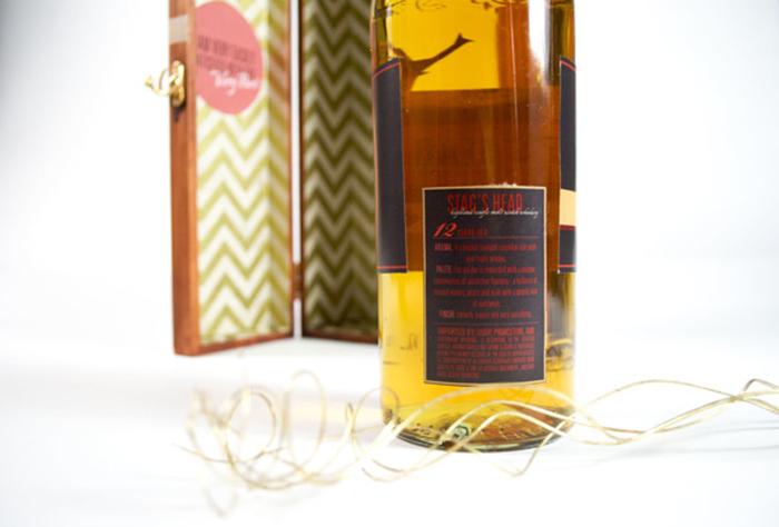 Stag's Head Scotch Label4