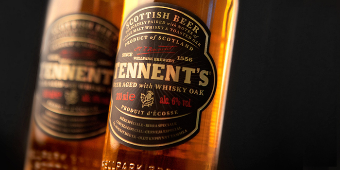 Tennents Whisky Oak Aged Beer