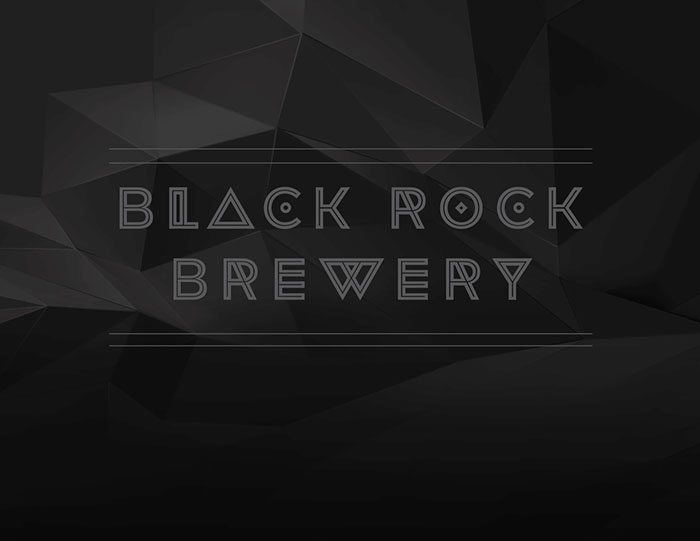 Black Rock Brewery Branding
