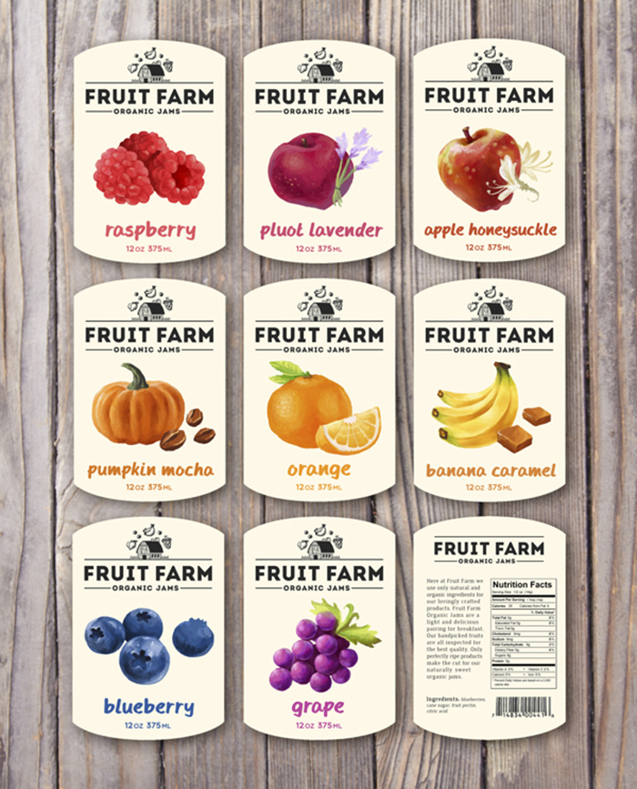 Fruit Farm Organic Jams21