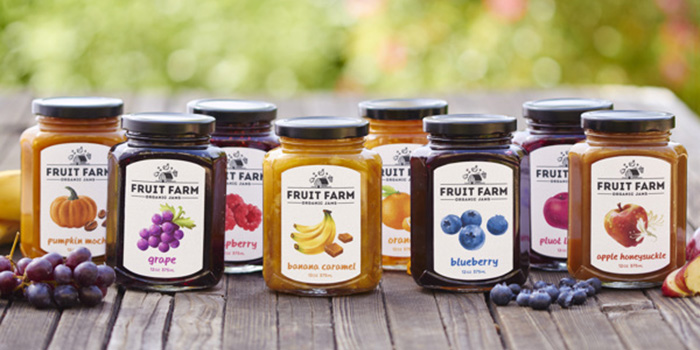 Fruit Farm Organic Jams
