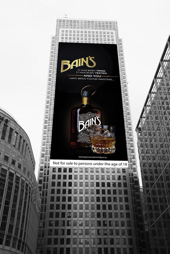 Bain 39 s cape mountain whisky daily package design for Bain s cape mountain whisky