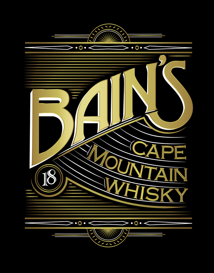 Bain\'s Cape Mountain Whisky - Daily Package Design InspirationDaily ...