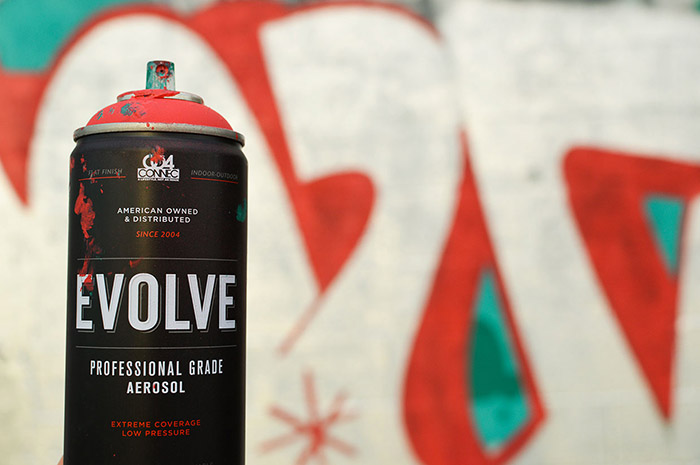 EVOLVE SPRAY PAINT11