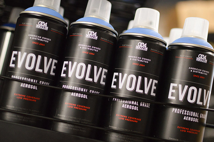EVOLVE SPRAY PAINT5