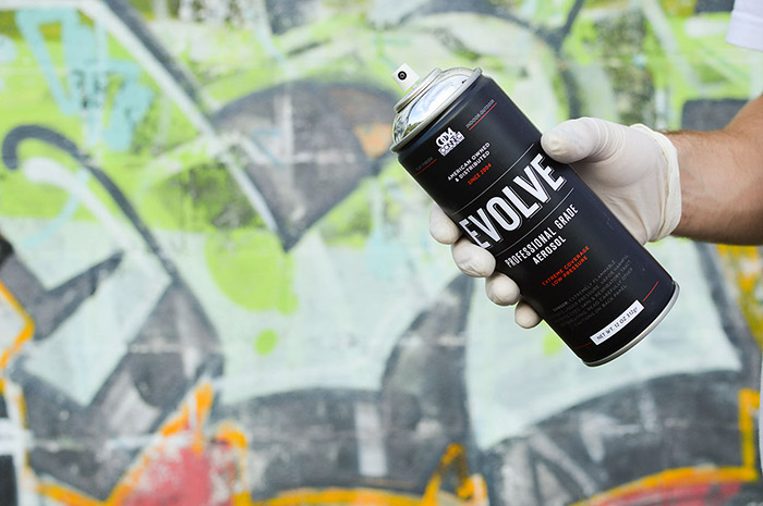 EVOLVE SPRAY PAINT7