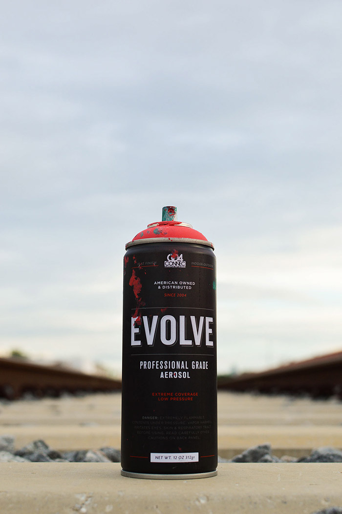 EVOLVE SPRAY PAINT9