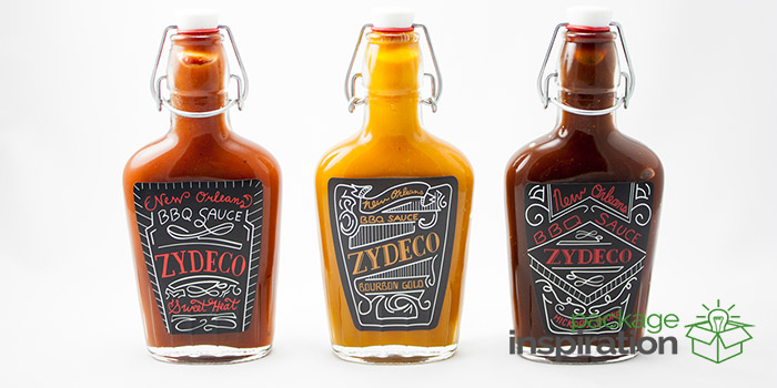 Zydeco Bbq Sauce Daily Package Design Inspirationdaily
