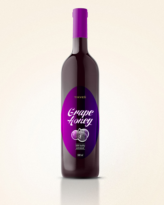 Tikvesh Grape Honey Concept