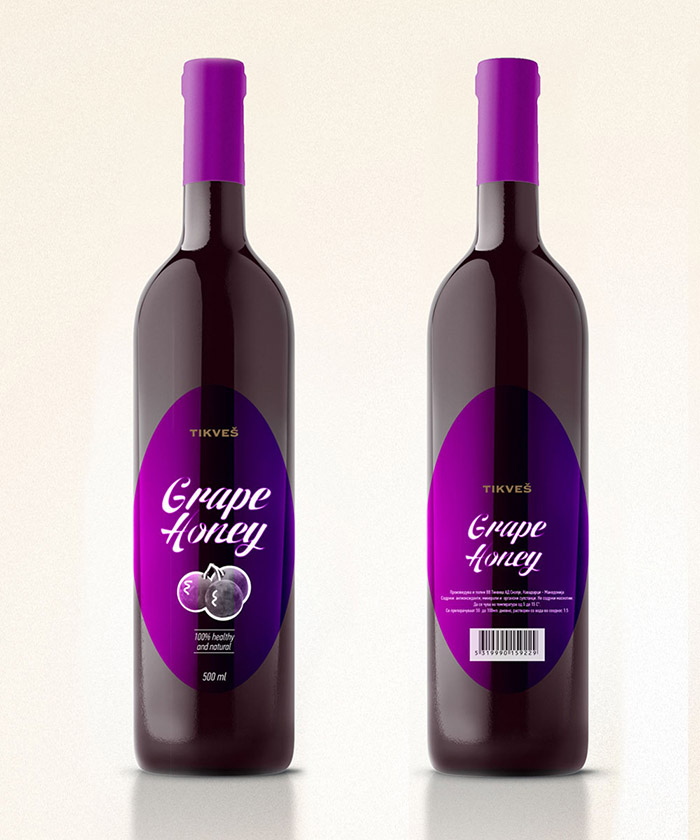 Tikvesh Grape Honey Concept2