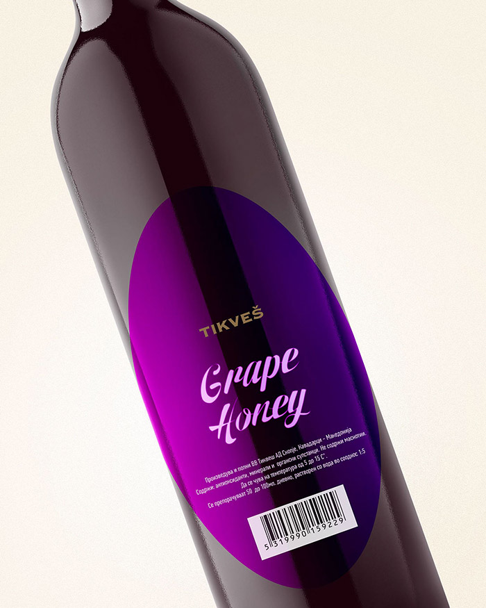 Tikvesh Grape Honey Concept3