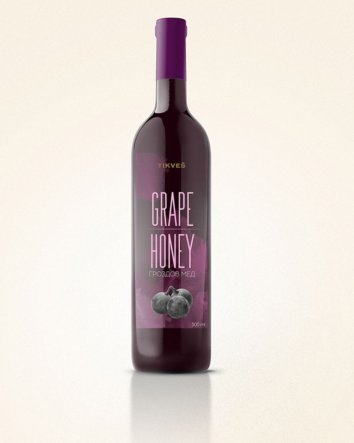 Tikvesh Grape Honey Concept4