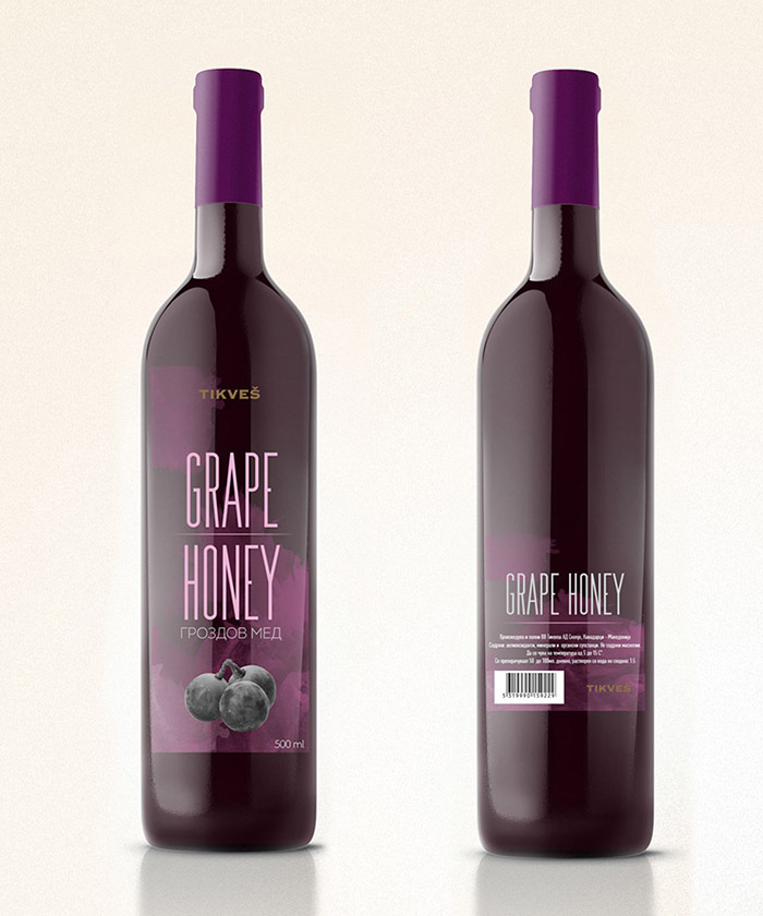 Tikvesh Grape Honey Concept5