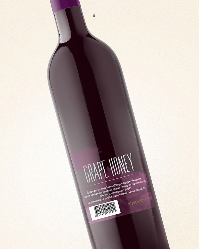 Tikvesh Grape Honey Concept6