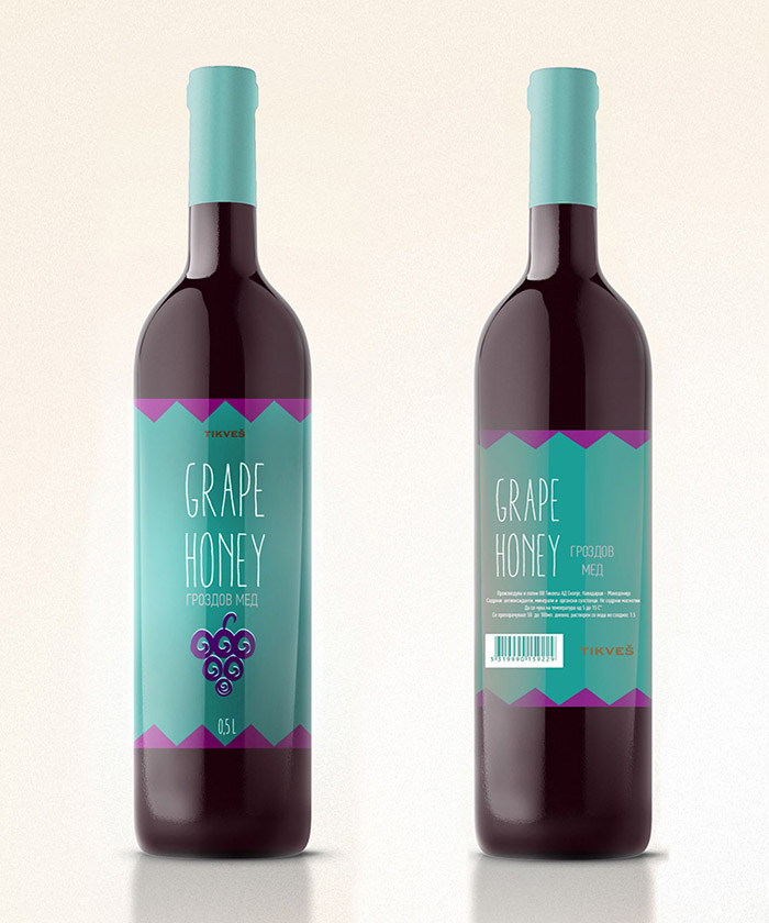 Tikvesh Grape Honey Concept8