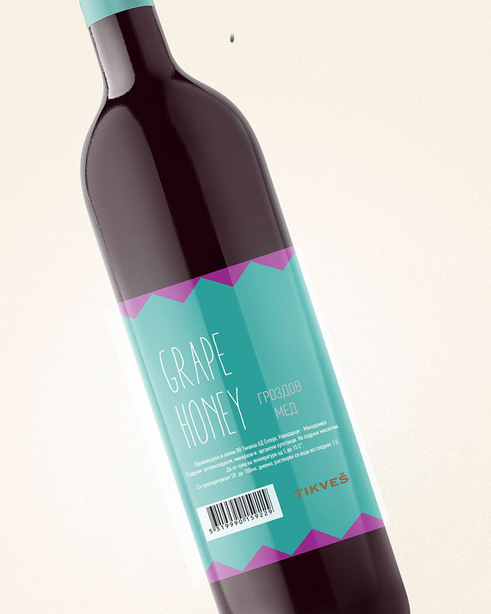 Tikvesh Grape Honey Concept9