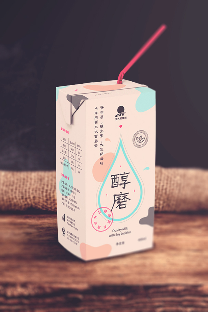 Q Dog Brand Soy Milk - Daily Packa...