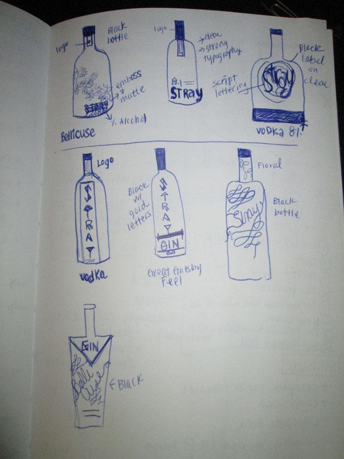 Door County Distillery Vodka Label