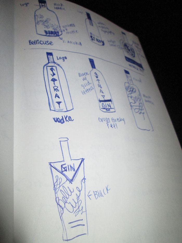 Door County Distillery Vodka Label2