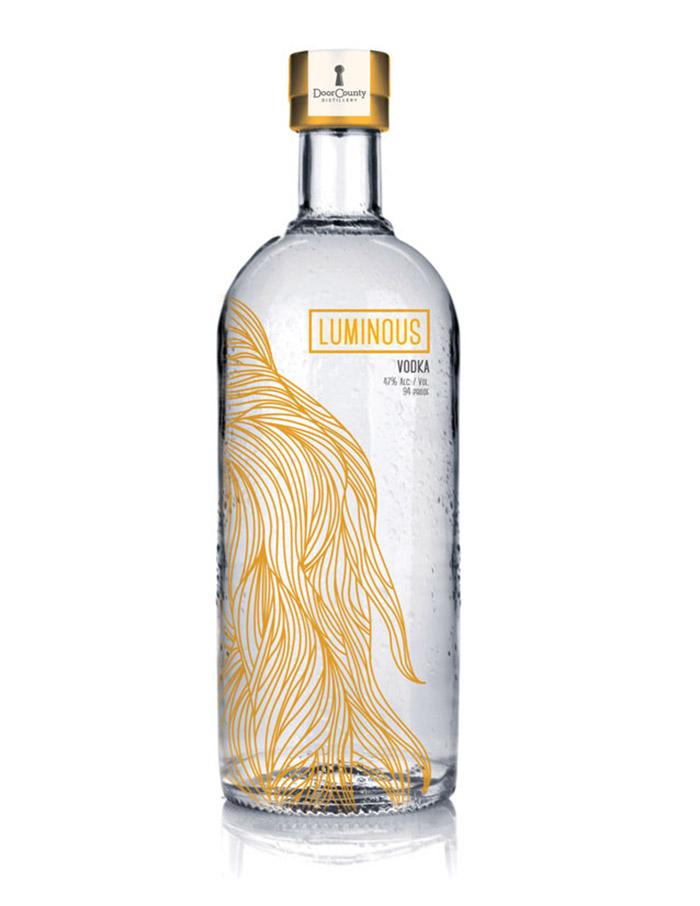 Door County Distillery Vodka Label4