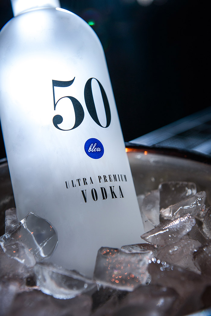 50 Bleu Vodka - Daily Package Design InspirationDaily ...