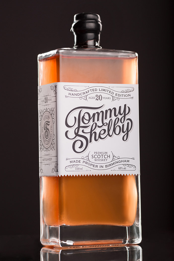 Tommy Shelby Whiskey Daily Package Design