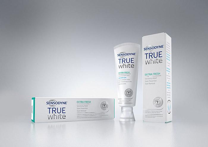 GSK Sensodyne True White 3D Product Visuals