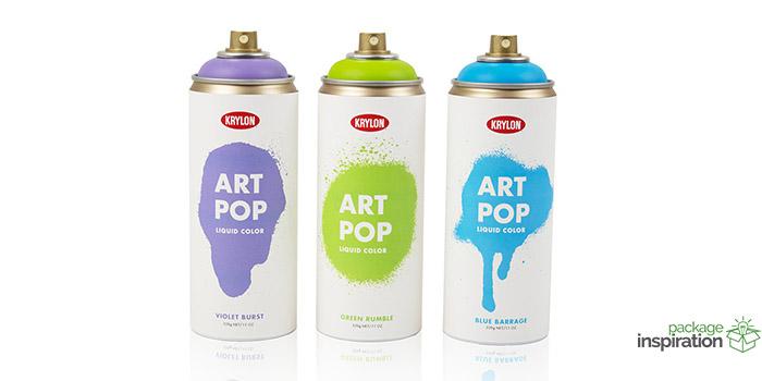 """Krylon """"Art Pop"""" Spray Paint"""