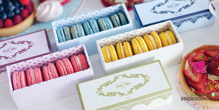 Packaging For Macarons Eat me macarons daily package design inspirationdaily package eat me macarons sisterspd