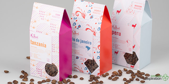 Pattern Based Variety Set Coffee Beans Daily Package