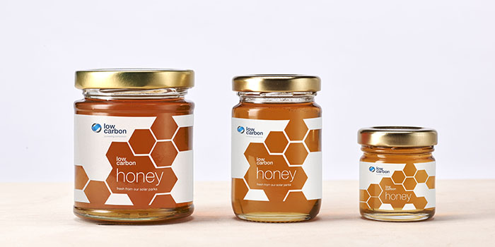 This week is National Honey Week, and PWW are proud to reveal our packaging design for Low Carbon's honey jars. Low Carbon invests in, owns, and operates renewable energy projects, embracing solar photovoltaic,