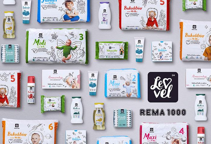 REMA 1000 Lev Vel