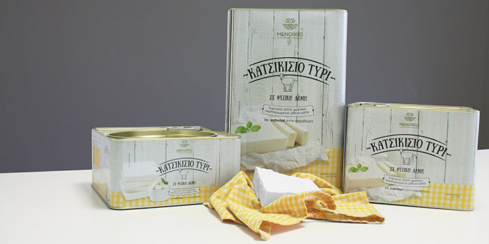Menikio Goat Cheese Daily Package Design