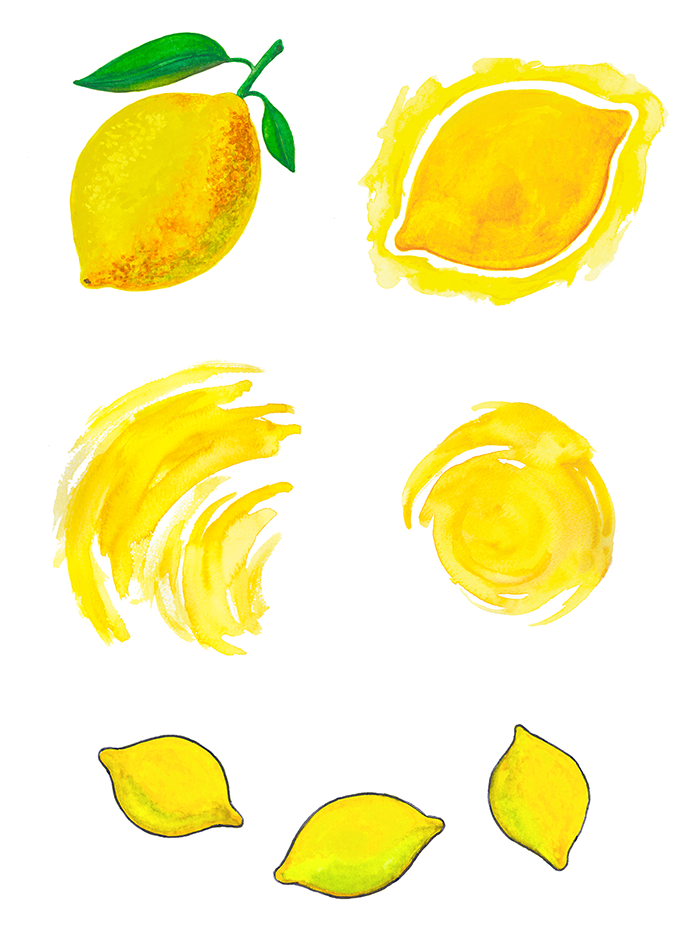 Lemon Recipe Cards3