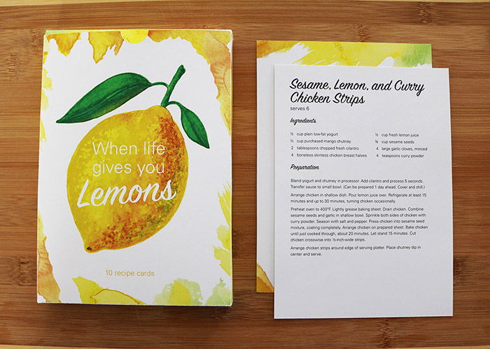 Lemon Recipe Cards6