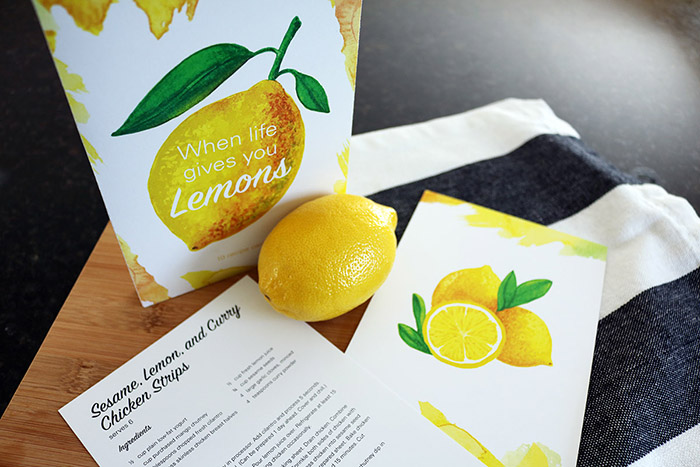 Lemon Recipe Cards8