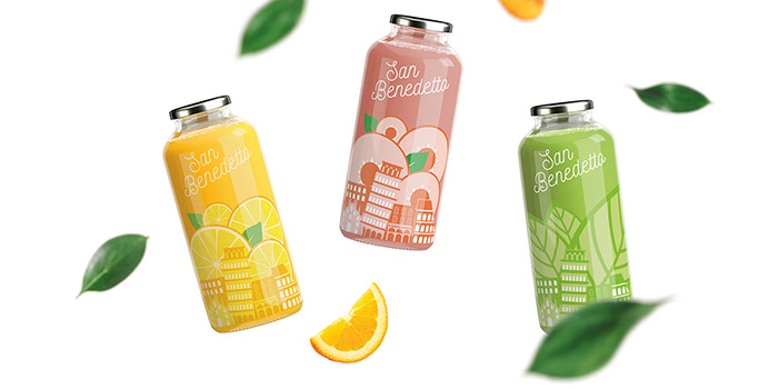 SanbenedettoJuice Packaging Concept Design Daily