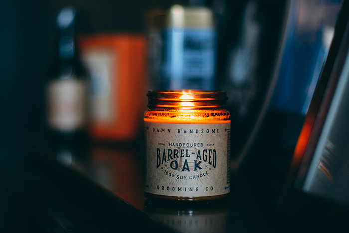 Barrel Aged Oak Candle2
