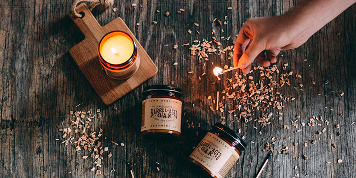 Barrel Aged Oak Candle